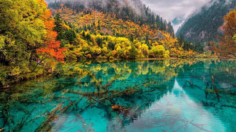 Lago das 5 Flores – China