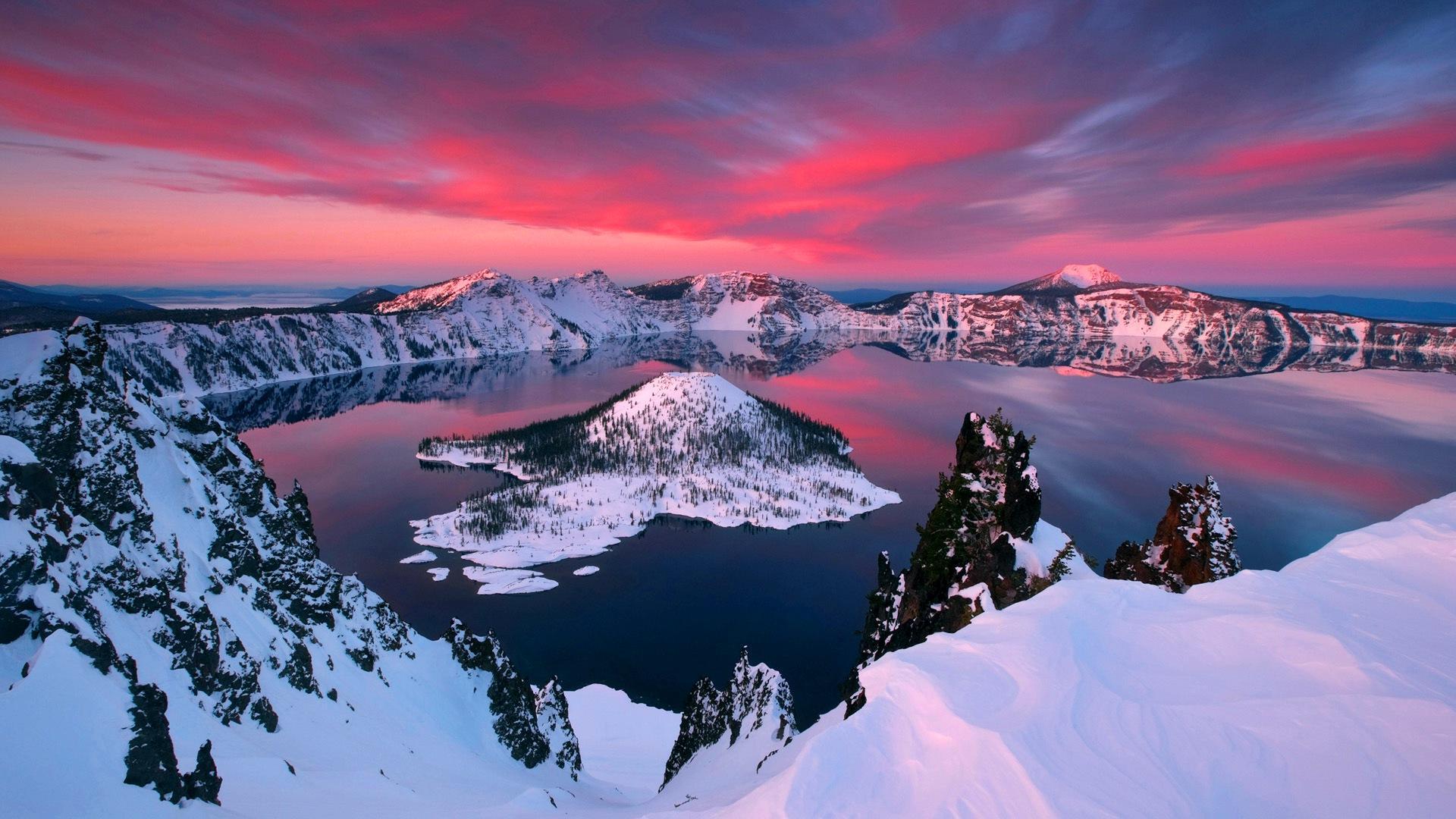 Lago da Cratera – Estados Unidos da América
