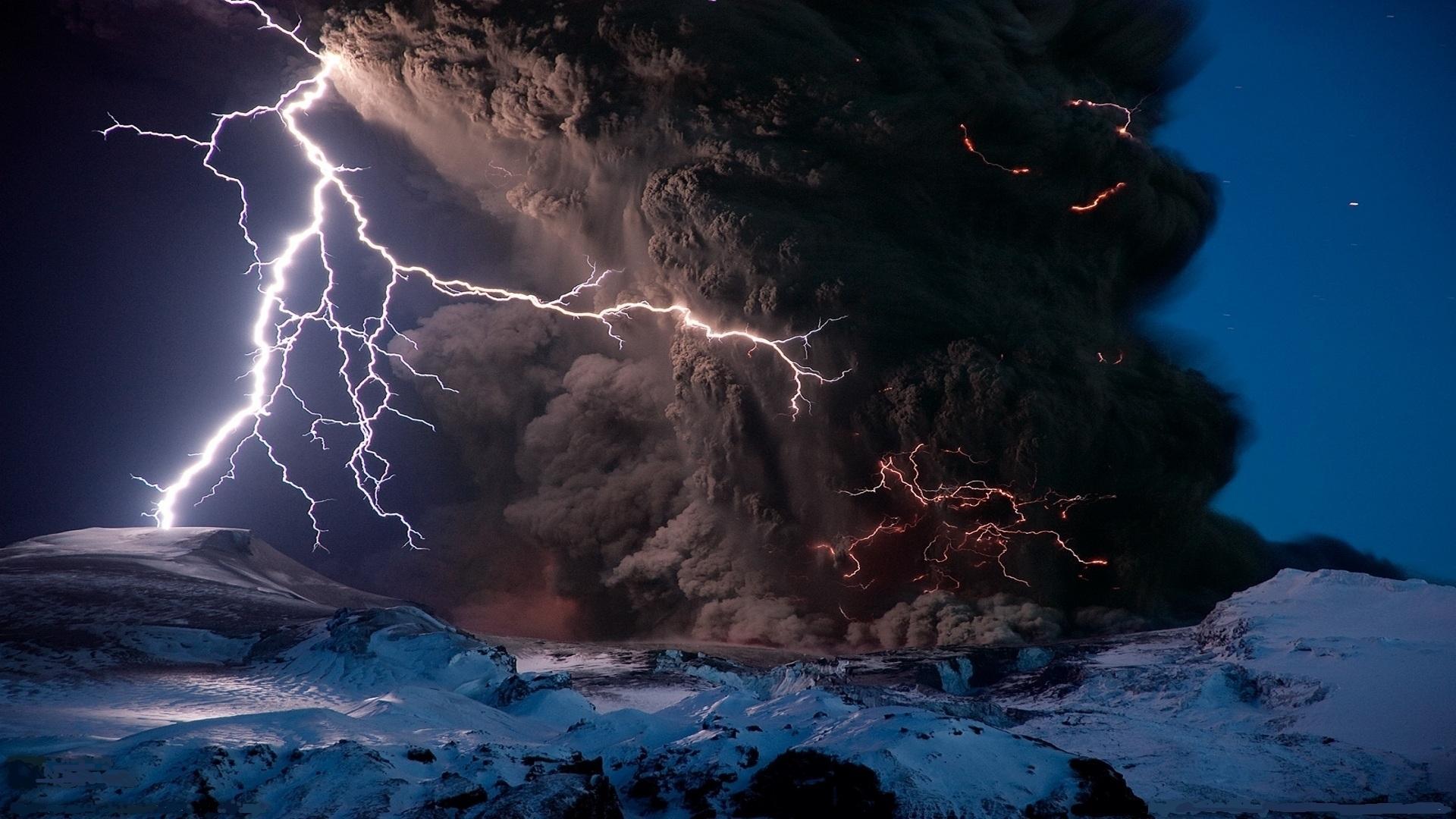 Relâmpagos Vulcânicos