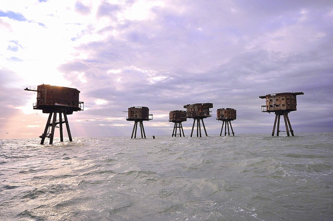 Fortes aquáticos do rio Thames