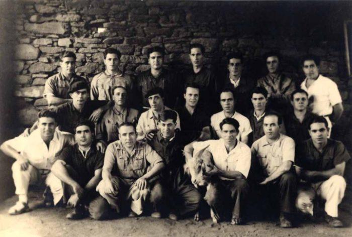 Grupo de presos do Campo do Tarrafal