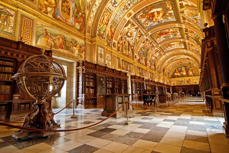 Biblioteca Real de El Escorial, Espanha