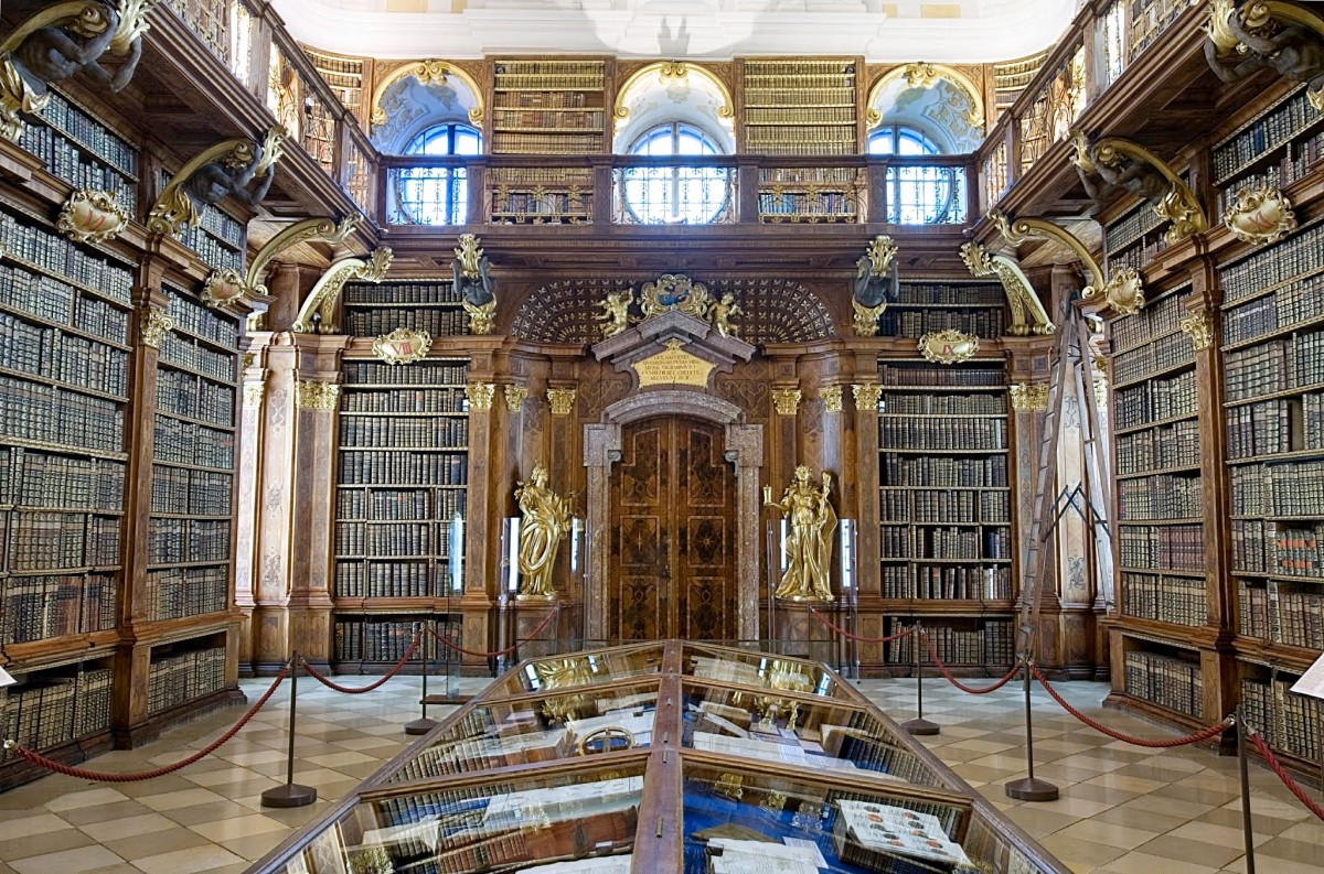Biblioteca do Mosteiro de Melk, Áustria