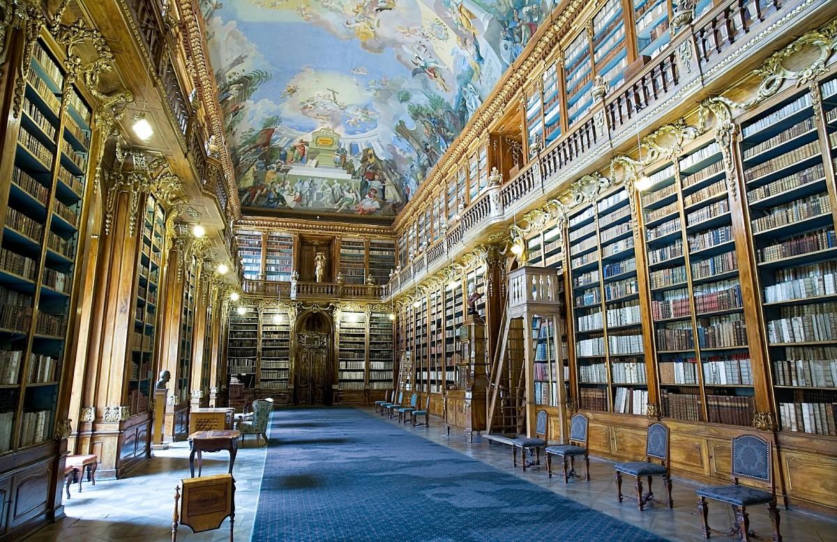 Biblioteca do Mosteiro de Strahov, República Checa