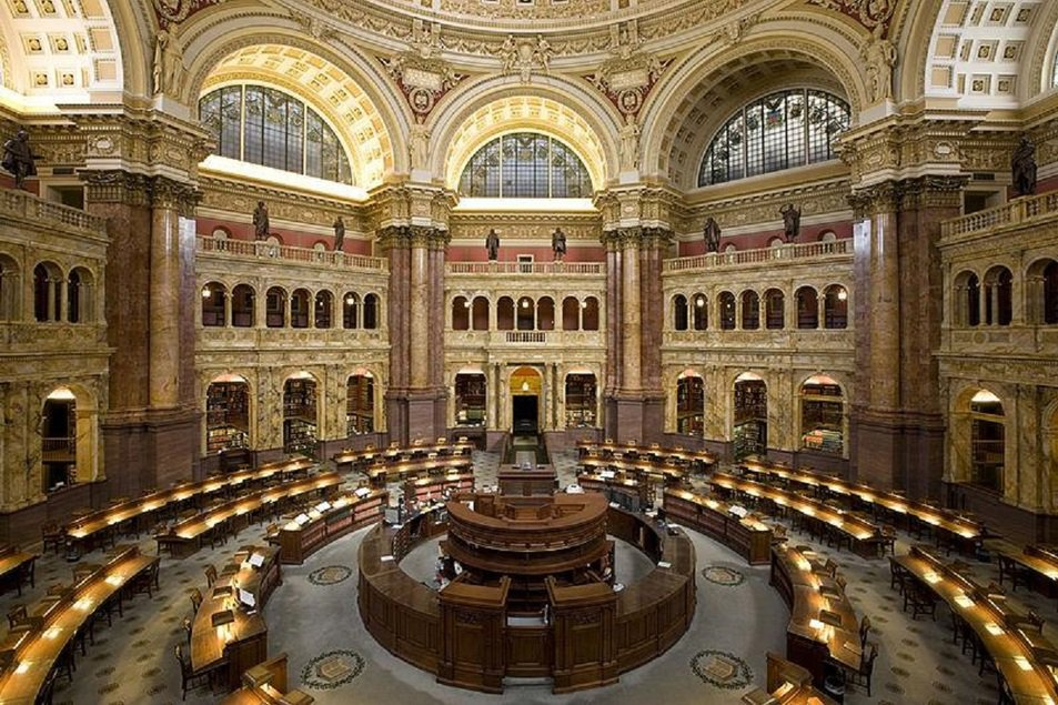 Biblioteca do Congresso de Washington, EUA