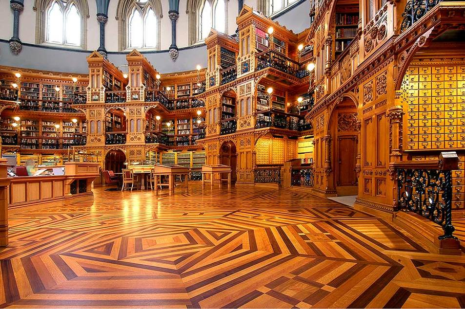 Biblioteca do Parlamento Canadiano, Canadá