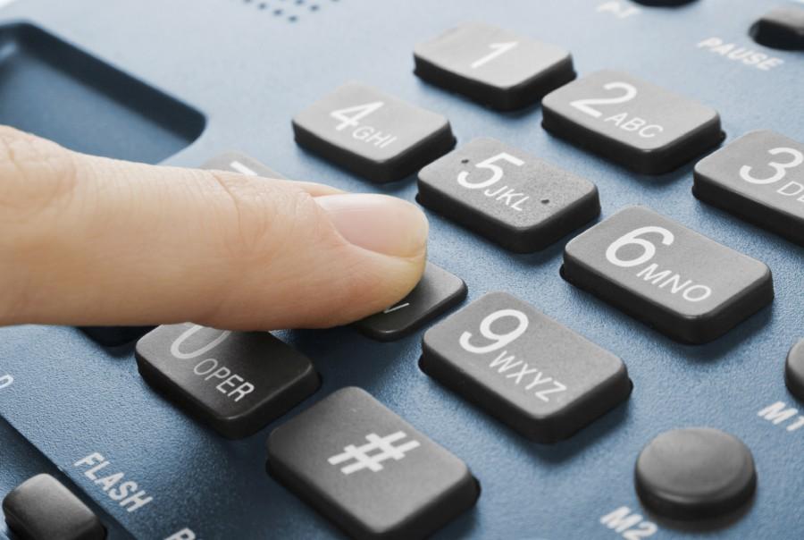Morada e número de telefone