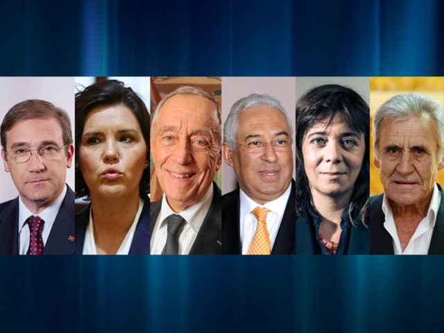 políticos portugueses