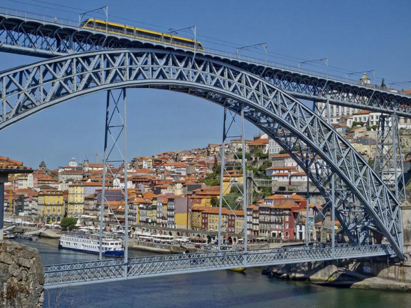 Ponte D. Luís fez 131 anos