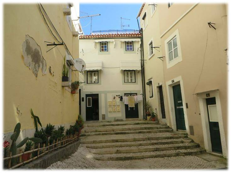 Ruelas de Lisboa, singelas e encantadoras