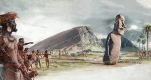 Os Gigantes da Ilha de Páscoa