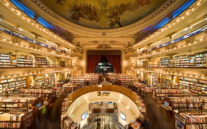 As 16 Livrarias mais bonitas do Mundo