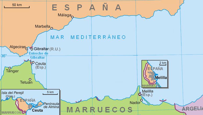 Que cidade espanhola usa o brasão português?