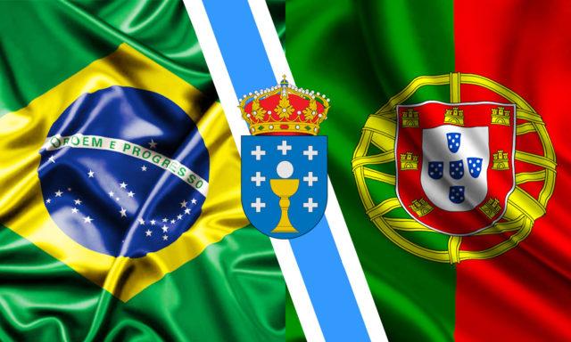 Os brasileiros, os galegos e os portugueses