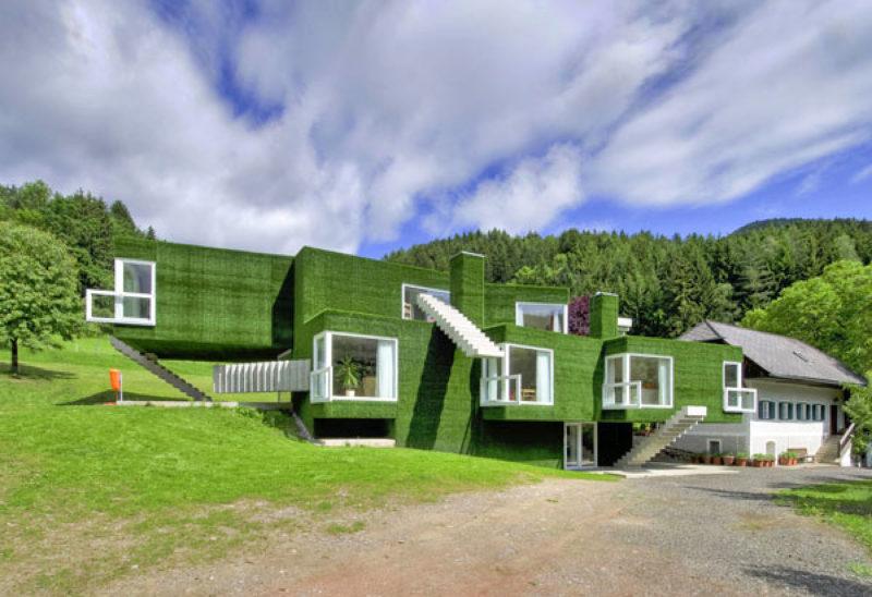 Casas estranhas que parecem ficção