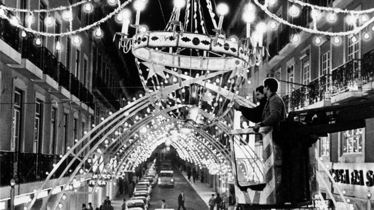 O Natal encantado lisboeta no século passado (31 fotos)