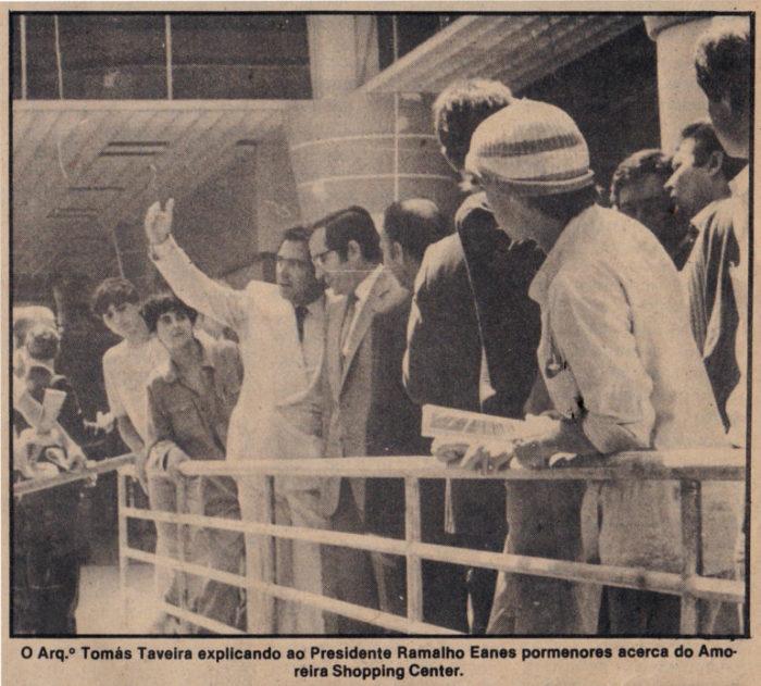 Lembra-se como foi a abertura do Amoreiras há 33 anos?