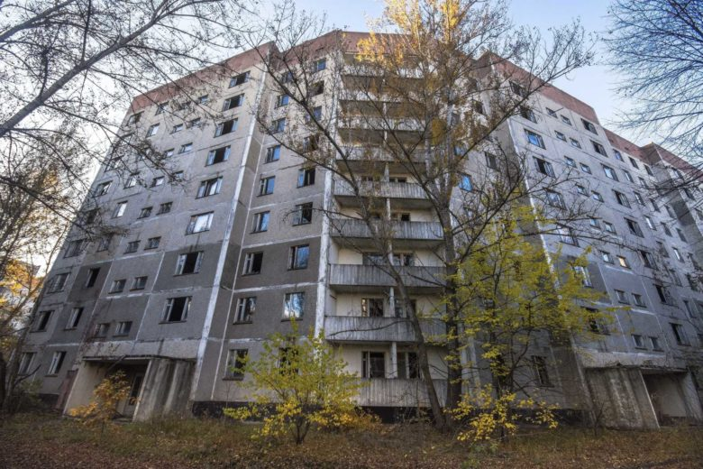 Pripyat, a cidade fantasma