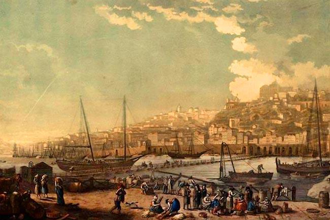 Locais históricos no Porto