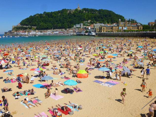 La Concha Beach, Espanha