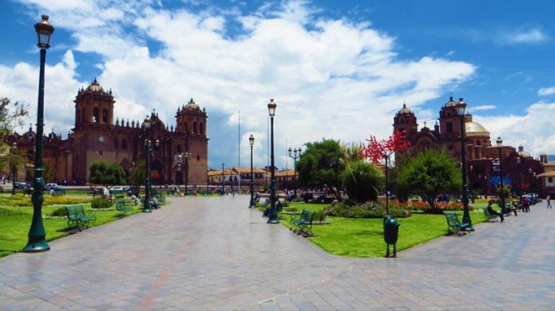 Praça das Armas em Cusco, Peru