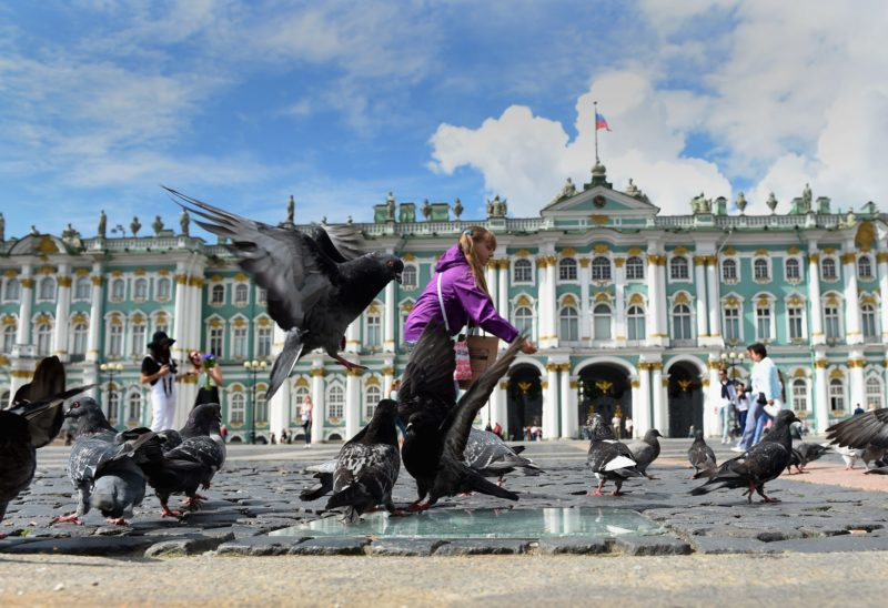 Praça do Palácio, São Petersburgo, Rússia