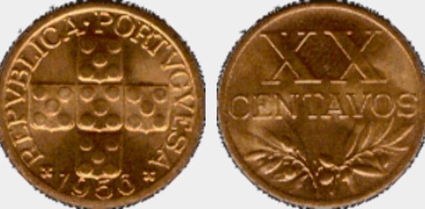 moedas mais valiosas e raras da República Portuguesa