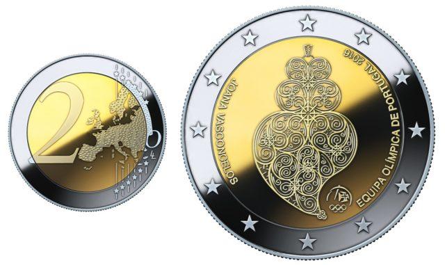 moedas valiosas e raras de 2 euros
