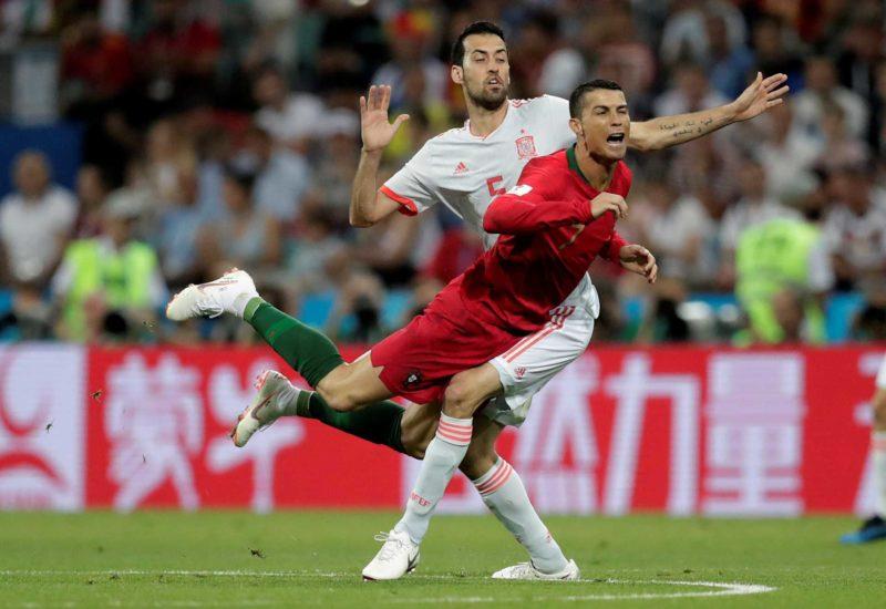 Portugal-Espanha, as imagens que não viu na televisão