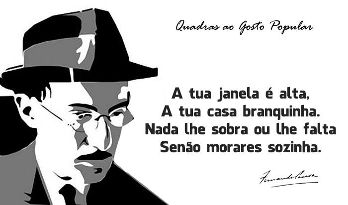 40 quadras populares de Fernando Pessoa