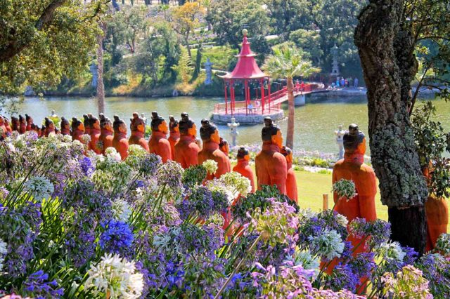 O Bacalhôa Buddha Éden é o maior jardim Oriental da Europa