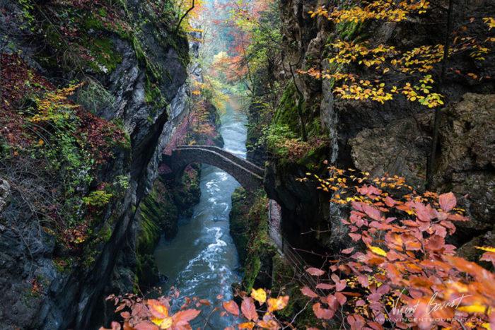 Gorge de L'Areuse, Suíça