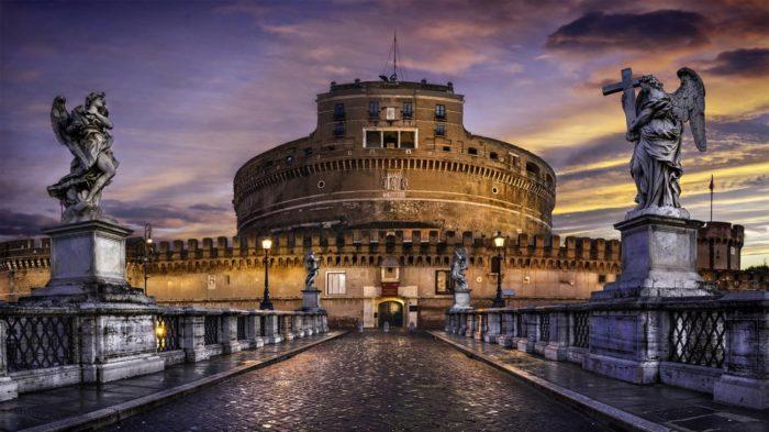Mausoléu de Adriano - 30 Lugares Famosos do Mundo
