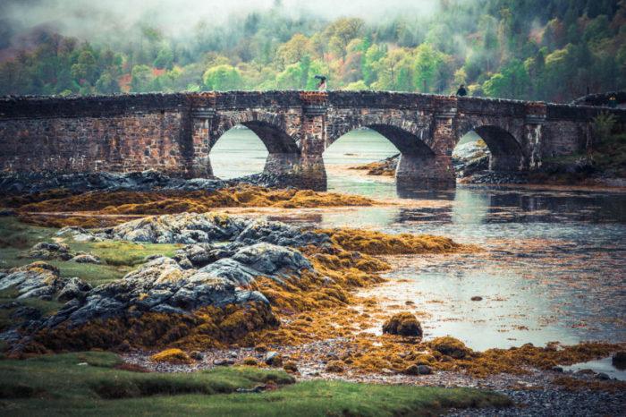 Ponte Eilean Donan, Escócia