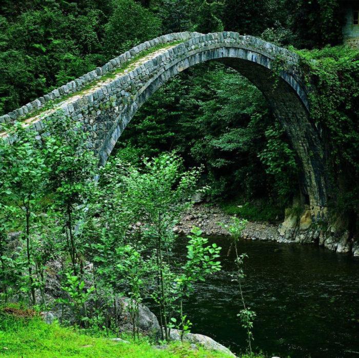 Ponte Kemer, Rize, Turquia