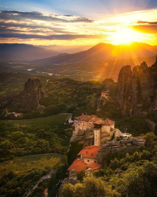 Metéora, Grécia