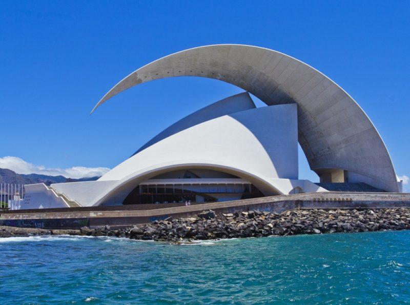 Sala de conciertos, Tenerife