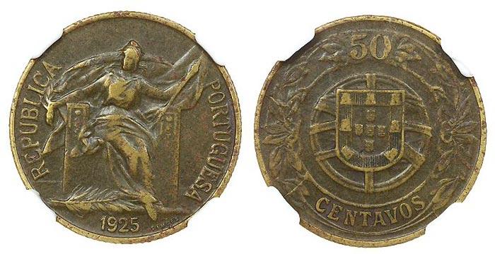 As 20 moedas mais valiosas e raras da República Portuguesa