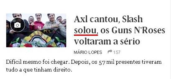 «Slash solou» é erro de português? E «míster», no futebol?