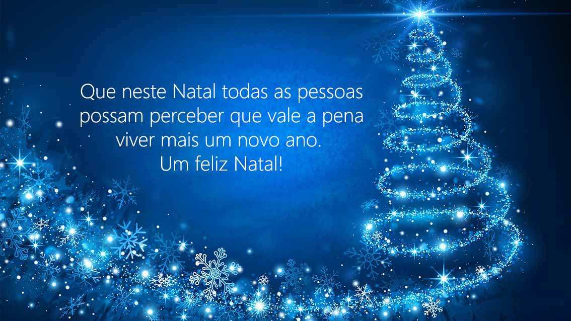 belas mensagens de Natal