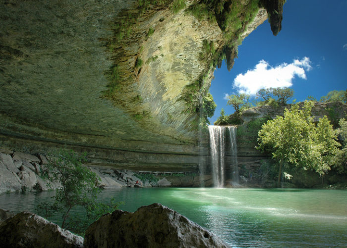 Reserva Hamilton Pool, Texas, Estados Unidos