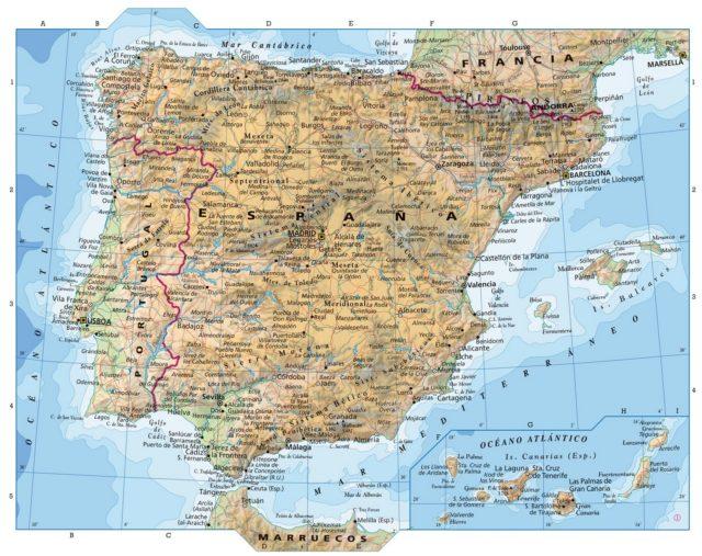A Língua Portuguesa no mapa de Espanha?