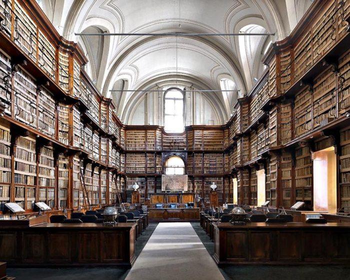 Biblioteca Angelica, Roma, Itália