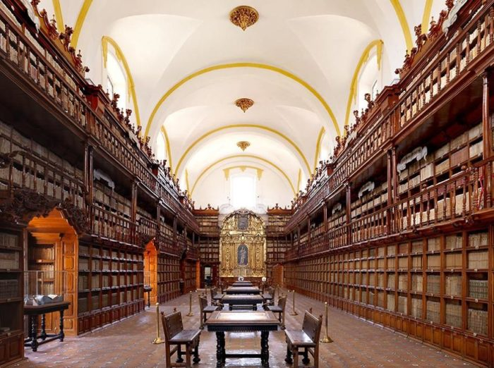 Biblioteca Palafoxiana, Puebla, México