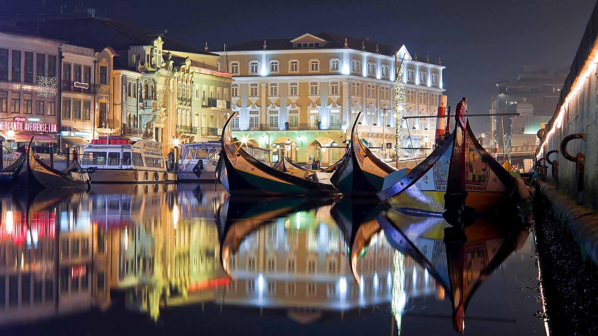 Aveiro é a cidade romântica