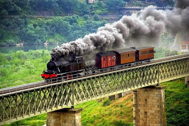 viagens de comboio pelo mundo