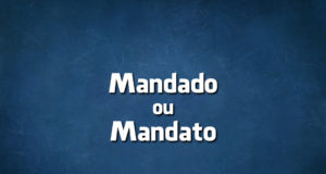 Mandado ou Mandato