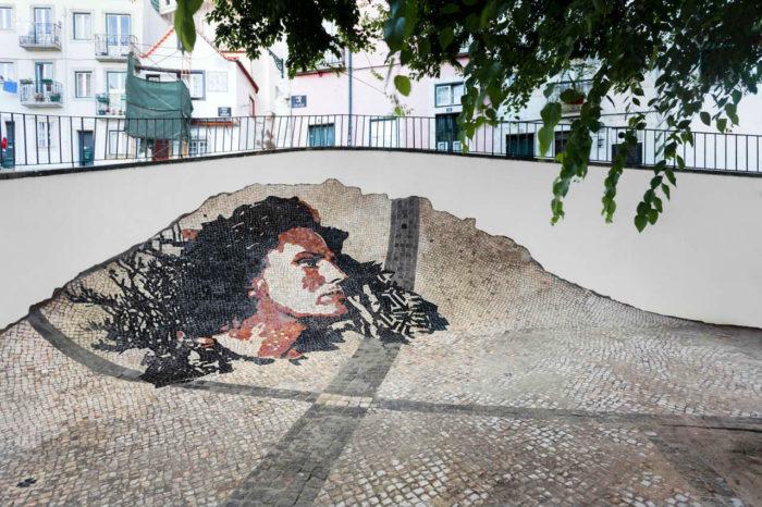 na calçada portuguesa