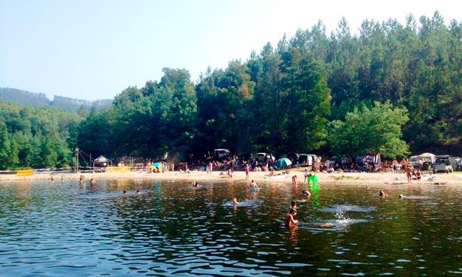 melhores e mais bonitas Praias Fluviais da zona Centro