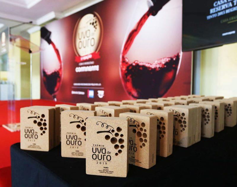 Vinhos tintos, brancos e não só, conheça os premiados no concurso Uva de Ouro 2019